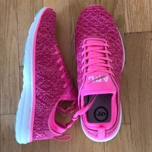 NEW APL pink sneakers